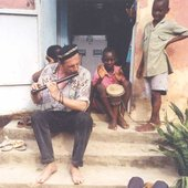 Dieter Weberpals with Argile Africa Tour 1997
