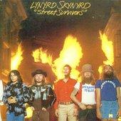 Lynyrd Skynyrd's STREET SURVIVOR'S ALBUM COVER(WITH FLAMES)