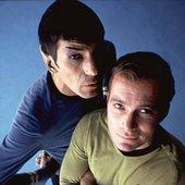 Leonard Nimoy & William Shatner