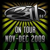 311 Fall / Winter Tour Banner