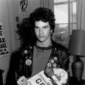 Darby Crash lead singer of the Germs 1980