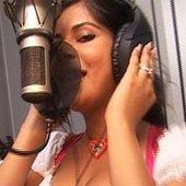 Indira im Studio