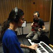 Anar Yusufov and De Kuzmin - Broken Glass Extet recording at Usti nad Labem