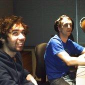 James and Bennett at KSYM San Antonio