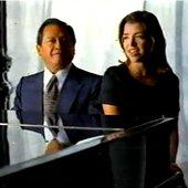 Armando Manzanero y Lisset
