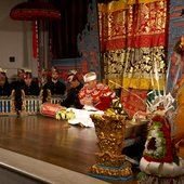 The blessing traditionally given before a performance
