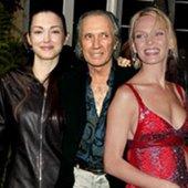 David Carradine, Julie Dreyfus And Uma Thurman
