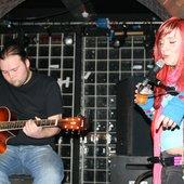 Wayne and Nessa, acoustic.