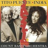 India And Tito Puente With The Count Basie Orchestra