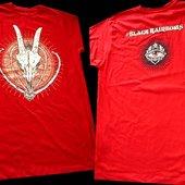 RED DEVIL SHIRT front-back/Angryblue design