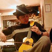 Bobby Jacoby plays the ukulele