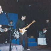 At the Velvet Elvis, Seattle, c. '95, with Cars Get Crushed & Satisfact