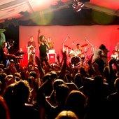 The Red Eyes closing Bellingen Global Carnival, 2008