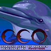 Ecco The Dolphin: Title Screen