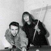 """Marc Almond with Christa \""""Nico\"""" Päffgen"""