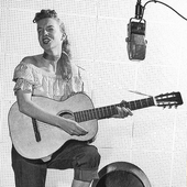 Janis Martin in the Studio