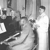 Thomas A. Dorsey with Sallie Martin