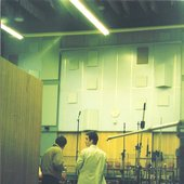 David and James sneak a look at studio 1 at Abbey Road