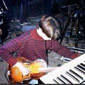 John Davis in studio