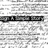 Sign A Simple Story