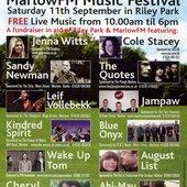 Marlow FM Music Festival flyer