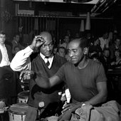 Oscar Pettiford, Don Byas. Copyright: Jan Persson