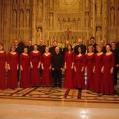 After singing Evensong in Washington National Cathedral