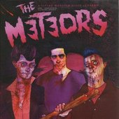 The Meteors: Mark Robertson, Nigel Lewis, P.  Paul Fenech