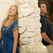 Pierce Brosnan & Meryl Streep