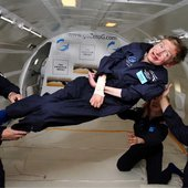 Hawking in zero-gravity