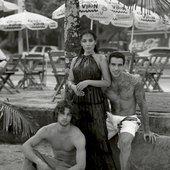 Harpers Bazaar Spain - Anitta, Pablo Morais & Diogo Castro by Thomas Whiteside