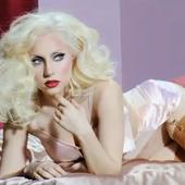 Gaga Elle mag PNG
