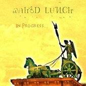 """Waked Lunch's \""""In Progress...\"""" album cover"""