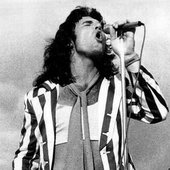 Dave Evans with AC/DC