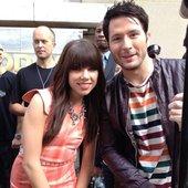Carly Rae and Adam
