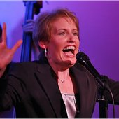 Liz Callaway at the Metropolitan Room on Tuesday night.