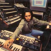 At the synthesizers