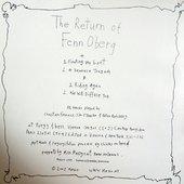 The Return Of Fenn O'Berg (1999) Cover