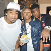 Webbie, Lil Trill, and Lil Phat
