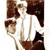 Rupert Everett and Colin Firth