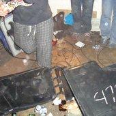 Sludges basement