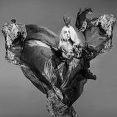 Gaga Vantiy Fair B&W (PNG)