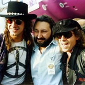 Sambora, Namin and Meine (Moscow Music Peace Festival 1989)