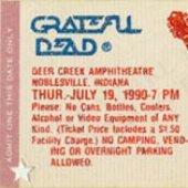 1990-07-19 - Deer Creek Music Center, Noblesville, IN