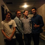 Bombay Bicycle Club at backstage of The People's Party, Jakarta