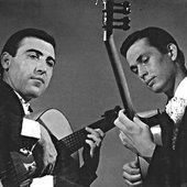 Paco de Lucía y Ricardo Modrego