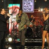 Jay-Z, Bono, The Edge, Rihanna