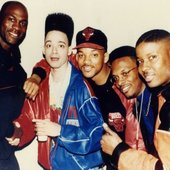 Michael Jordan, Christopher Reid, Will-Smith, DJ Jazzy Jeff & Christopher Martin
