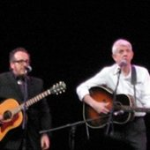 Nick Lowe And Elvis Costello