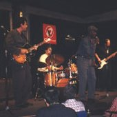 In Terrassa, Spain, Nov. 1998 with Lenny Lynn, Harlan Terson and Mike Schlick
